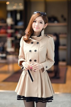 Winter Korean Fashion Coats Collection Of Actresses Styles